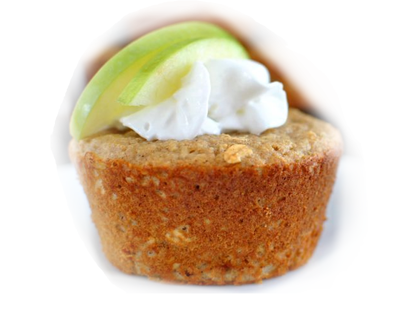 Apple Pie Oat Muffin