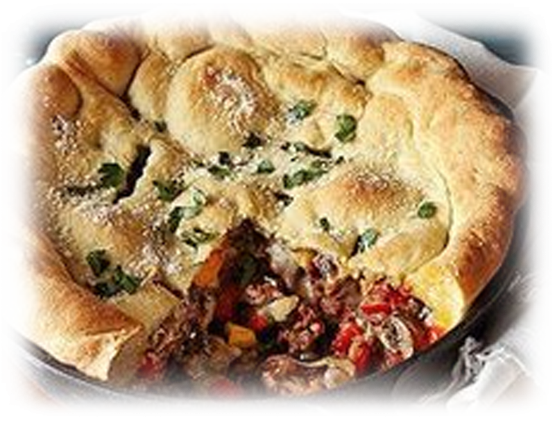 Cast-Iron Skillet Calzone