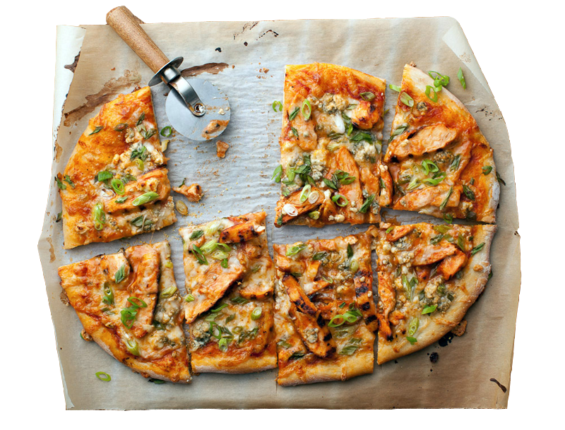 Malaysian Chicken Pizza