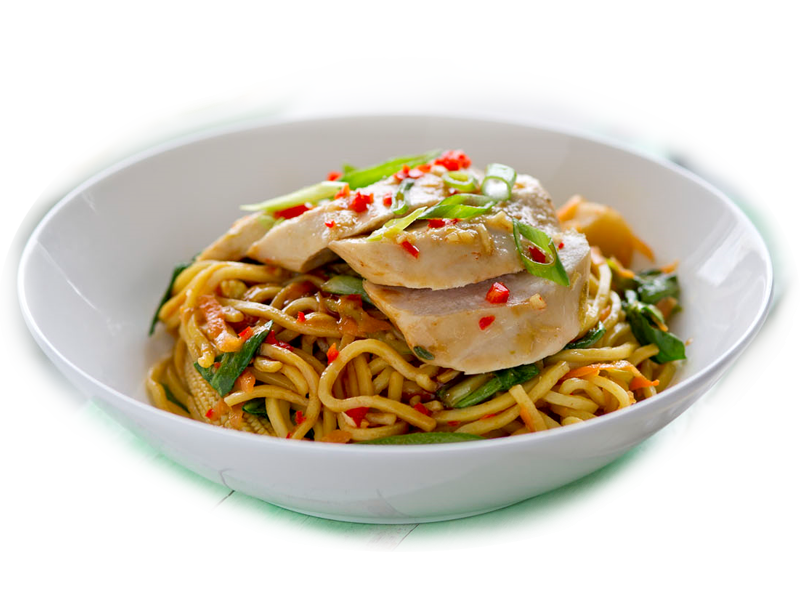Stir-Fry Chicken Noodles